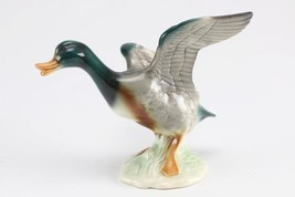 "1950s CORTENDORF Flying Porcelain Duck Figurine WESTERN GERMANY  6"" x 7"" - $59.39"