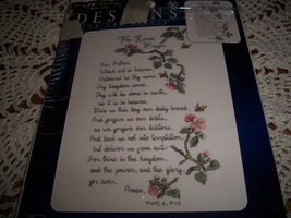 The Lord's Prayer Counted Cross Stitch Kit 114904 - $14.00