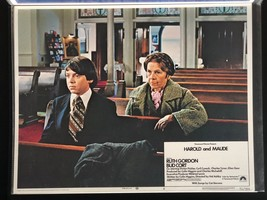 HAROLD AND MAUDE Original Lobby Card Poster Ruth Gordon Bud Cort 1971 Cu... - $93.14