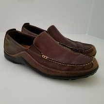 Cole Haan Mens 8.5 M Tucker Venetian Loafers Two-Tone Brown Leather and ... - $25.00