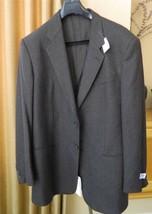 ARMANI COLLEZIONI Blazer Sport Coat Cashmere Brown Herringbone NWT $1795... - $773.22