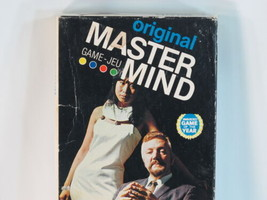 Master Mind Original 1972 Board Game 100% Complete Mastermind EUC Bilingual ^^ - $21.78