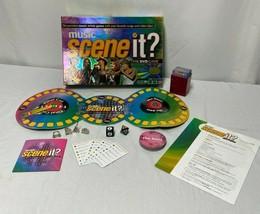 Scene It Music DVD Trivia Board Game Mattel 2005 - $16.36