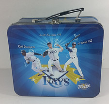 Tampa Bay Rays Metal Lunch Box 8in TG Lee Shields Pena Crawford Upton Ka... - $14.99