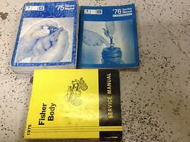1975 PONTIAC Bonneville Firebird Catalina Lemans Service Shop Manual Set... - $68.77