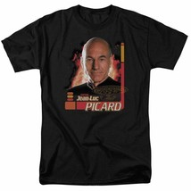 Star Trek The Next Generation Capt Jean-Luc Picard graphic t-shirt CBS615 image 1