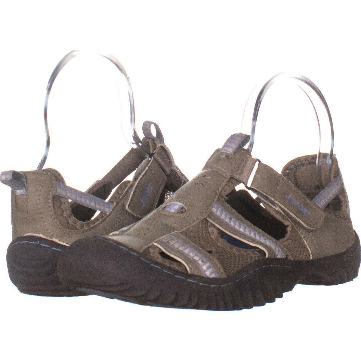 JSport by Jambu Regatta Sport Sandals, Light Grey/Stone Blue 429, Light - $28.79