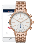 NEW! Chaps Ralph Lauren Connected Rose Gold Tone Hybrid Smartwatch CHPT3... - $79.00