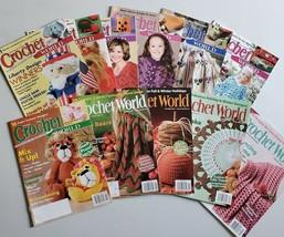 Crochet World Magazines 2004 + -- You Choose  - $4.99+