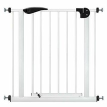 Meinkind Baby Safety Gate Pet Dog Gate, 90° Auto Close Doorway Fence (Wh... - $137.63