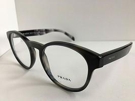 New PRADA VPR 1T6 USI-1O1 50mm Round Gray Eyeglasses Frame #5 - $189.99