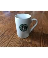 2008 Starbucks ~ Mermaid Logo ~ White Ceramic Coffee Cup Mug 10 oz. - $9.49