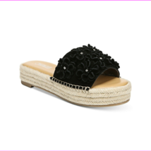 Carlos by Carlos Santana Chandler Sandals Black, Size 8 M - $23.10