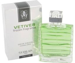 Guerlain Vetiver Frozen Cologne 2.5 Oz Eau De Toilette Spray image 1