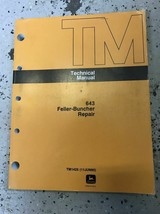 643 Feller Buncher Technical Service Shop Workshop Repair Manual OEM  - $89.09