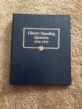 Liberty Standing Quarters 1916-1930 Whitman Classic Coin Album 9121 Empt... - $19.99