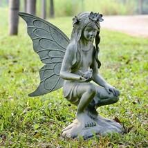 Garden Sitting Fairy Statue Lawn Garden Deck Patio Decor Sculpture,26''H - $409.86
