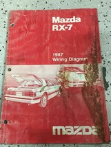 1987 Mazda RX-7 RX7 Electrical Wiring Diagram Troubleshooting Manual OEM... - $26.68