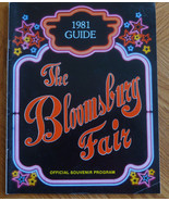 Bloomsburg Pa Fair Souvenir Program 1981 Robert Goulet Phyllis Diller Bo... - $9.41
