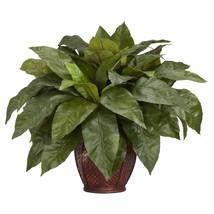 Birdsnest Fern w/Decorative Vase Silk Plant - $83.26