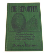 Cub Reporter Signed C.P. Mooney 1947 1st Ed by Boyce House - $65.29