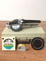 Vintage Dymo 1550 Type Writer Label Maker Used Working Free Shipping Gre... - €25,42 EUR