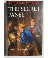 HARDY BOYS The Secret Panel by Franklin W Dixon (c) 1946 Grosset & Dunla... - $12.86