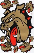 D002 Bulldog dog Sticker Decal Racing Tuning Size 27x18 cm / 10x7 inch - $3.49
