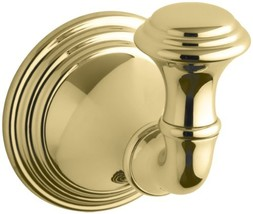 KOHLER K-10555-PB Devonshire Robe Hook, Vibrant (Vibrant Polished Brass) - $36.34