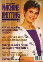 Modern Machine Knitting May 1995 Magazine Christening Gown, Sailor Bewar... - $5.69