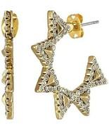 House of Harlow 1960 Jewelry Hoops Earrings - $37.23