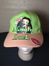 A Kiss For Luck Betty Boop Casino Gambling Ball Hat Cap Green Sugar Loaf... - $23.33