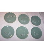 6 Royal Doulton Spindrift Bread and Butter Plates-6 1/2 inches - $50.00