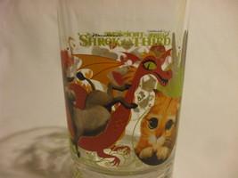 Shrek The Third HEAVY DUTY Beverage Glass16oz Dreamworks 2007 McDonald'... - $9.95