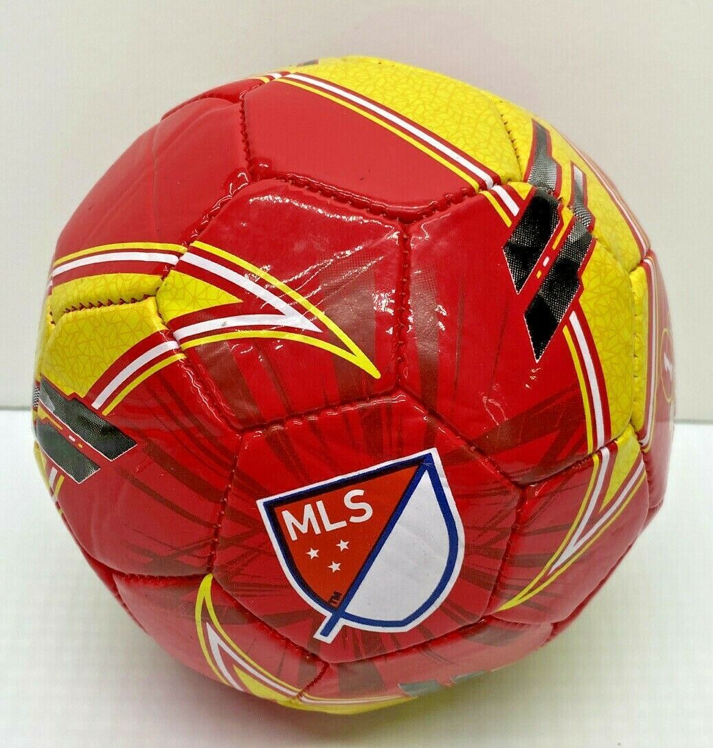 Franklin Size 1 Soccer Ball Red & Yellow New - $8.01