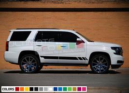 Sticker Decal Vinyl Sport Stripe Kit for Chevrolet Tahoe Z71 Door Sill Headlight - $40.98+
