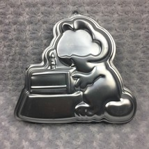 Garfield the Cat Character Birthday Party Wilton Cake Pan Vtg 1981 2105-2447 - $14.01