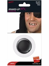 Black Tooth Out Wax Fancy Dress Halloween Pirate Zombie Special Effects Make Up - $16.93