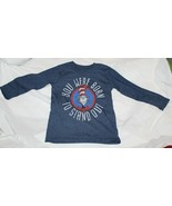 New Dr Seuss Cat in the Hat Long Sleeve Shirt Size 4 Born to Stand Out - $11.87