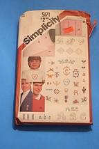 Simplicity 5171 Vintage Embroidery Transfers Monogram Alphabet 24 Motifs... - $9.89
