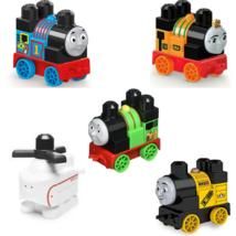 Mega Bloks Thomas & Friends Train Set 5 Nia Percy Stephen Harold Thomas New - $61.10