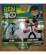 Ben 10 XLR8 and Four Arms - $19.31
