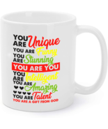 Love Husband And Wife Coffee Mug - You're A Gift From God - $16.95