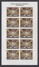 4739, Mint $19.95 Grand Central Station Pane of 20 Stamps - Stuart Katz - $295.00