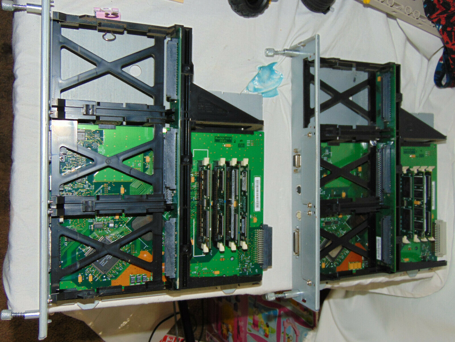 Primary image for HP lot 2x Formatter Boards C4165-60002 For  Laserjet 8150N w/ RAM tested