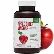 Organic Apple Cider Vinegar Capsules – Extra Strength 1,500mg With Biope... - $33.81