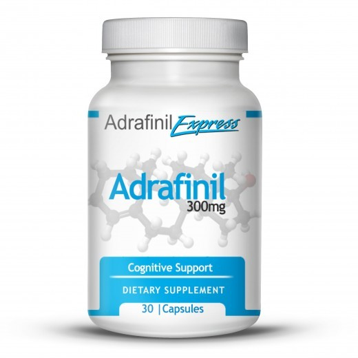 ADRAFINIL- 30 Capsules @ 300mg - Focus and Energy Nootropic