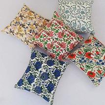 Traditional Jaipur Set of 5 Block Print Fabric Indian Cushions Pillow Covers Dec - $34.64