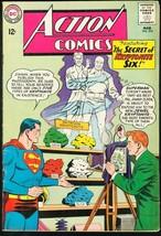ACTION #310-SUPERMAN-DC-KRYPTONITE-1964 VG/FN - $31.53