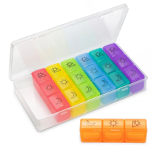 1 PCS Weekly Pill Organizer (3-Times-A-Day ) 7 Day Pill Box Portable Tra... - $20.00